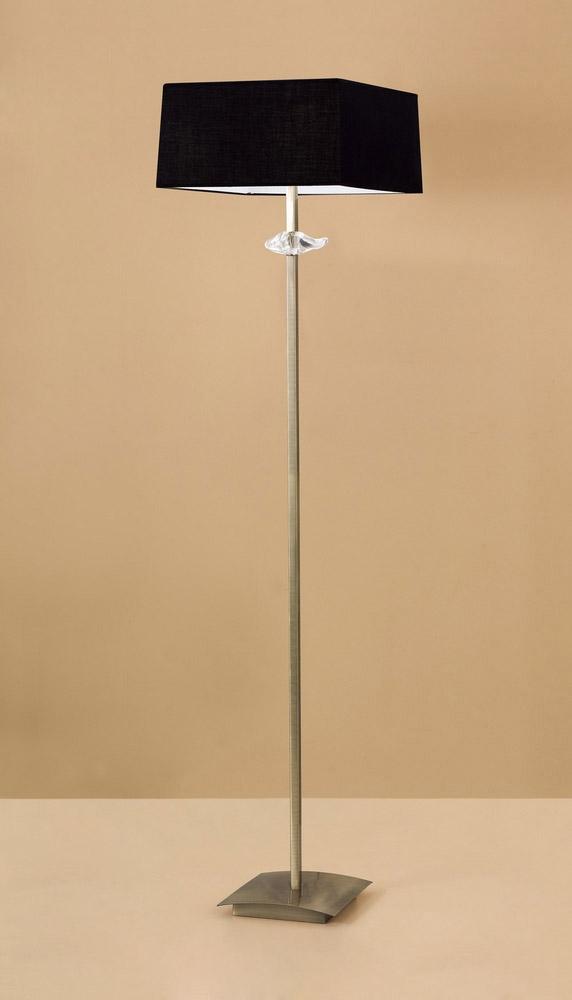 Mantra m0791ab bs akira floor lamp 3 light e27 antique for Mantra 5 light floor lamp
