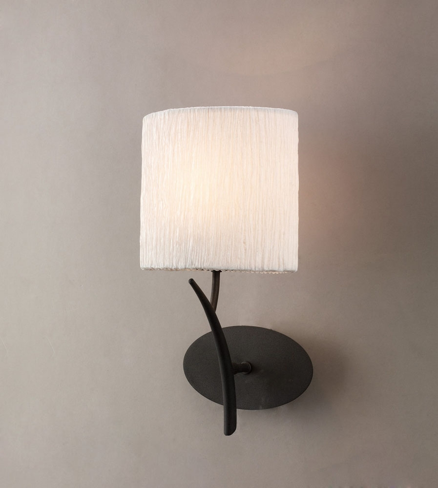 Mantra M1154 S Eve Wall Lamp Switched 1 Light E27