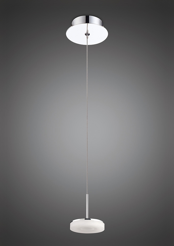 mantra m8191 nimbus pendant 1 light 5w led round 3000k. Black Bedroom Furniture Sets. Home Design Ideas