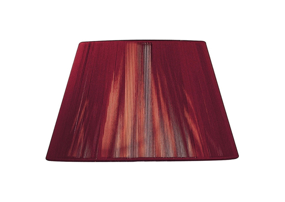Mantra Ms034 Silk String Shade Red Wine 300mm Astral