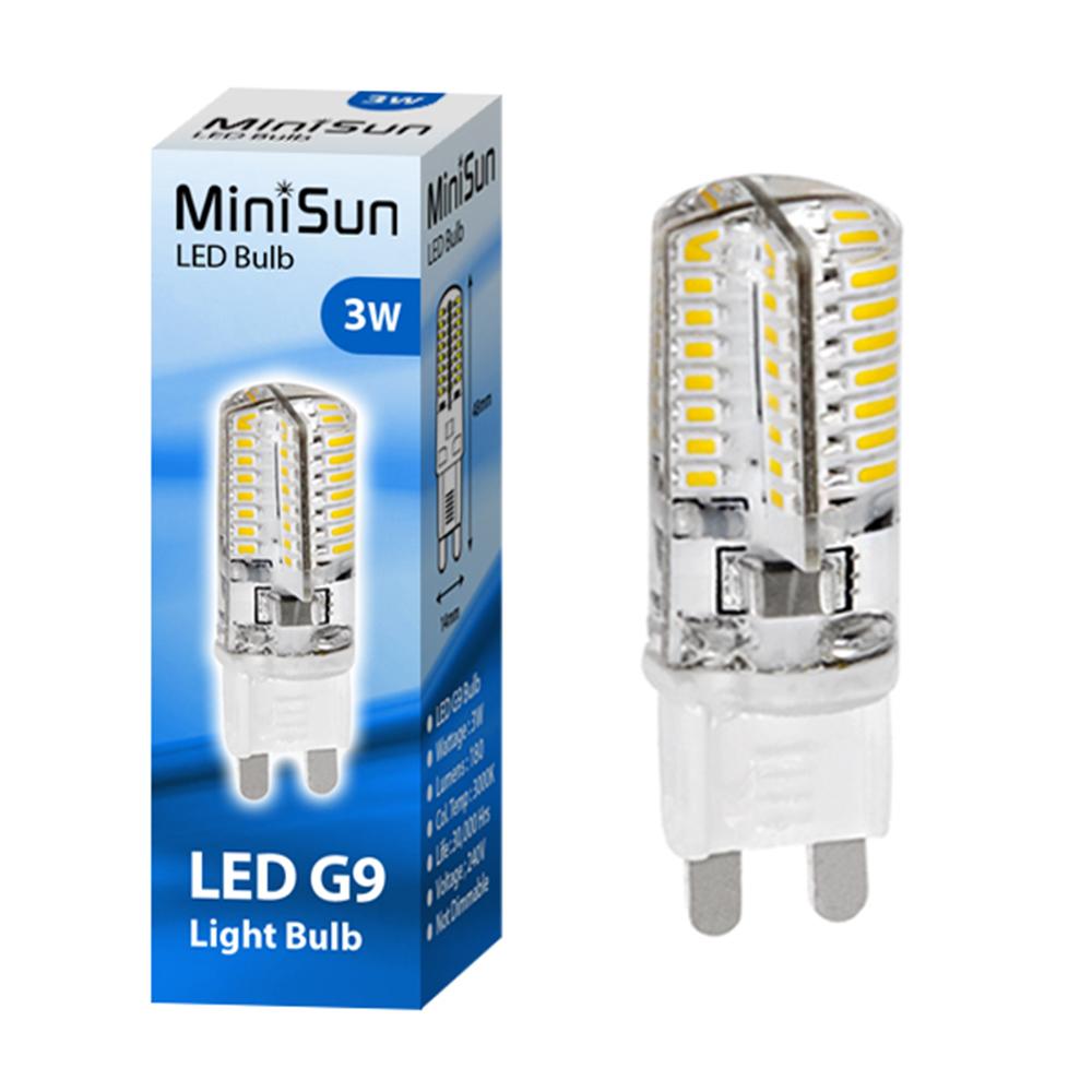 minisun mini high power 3w g9 led bulb 3000k 180lm astral lighting ltd. Black Bedroom Furniture Sets. Home Design Ideas