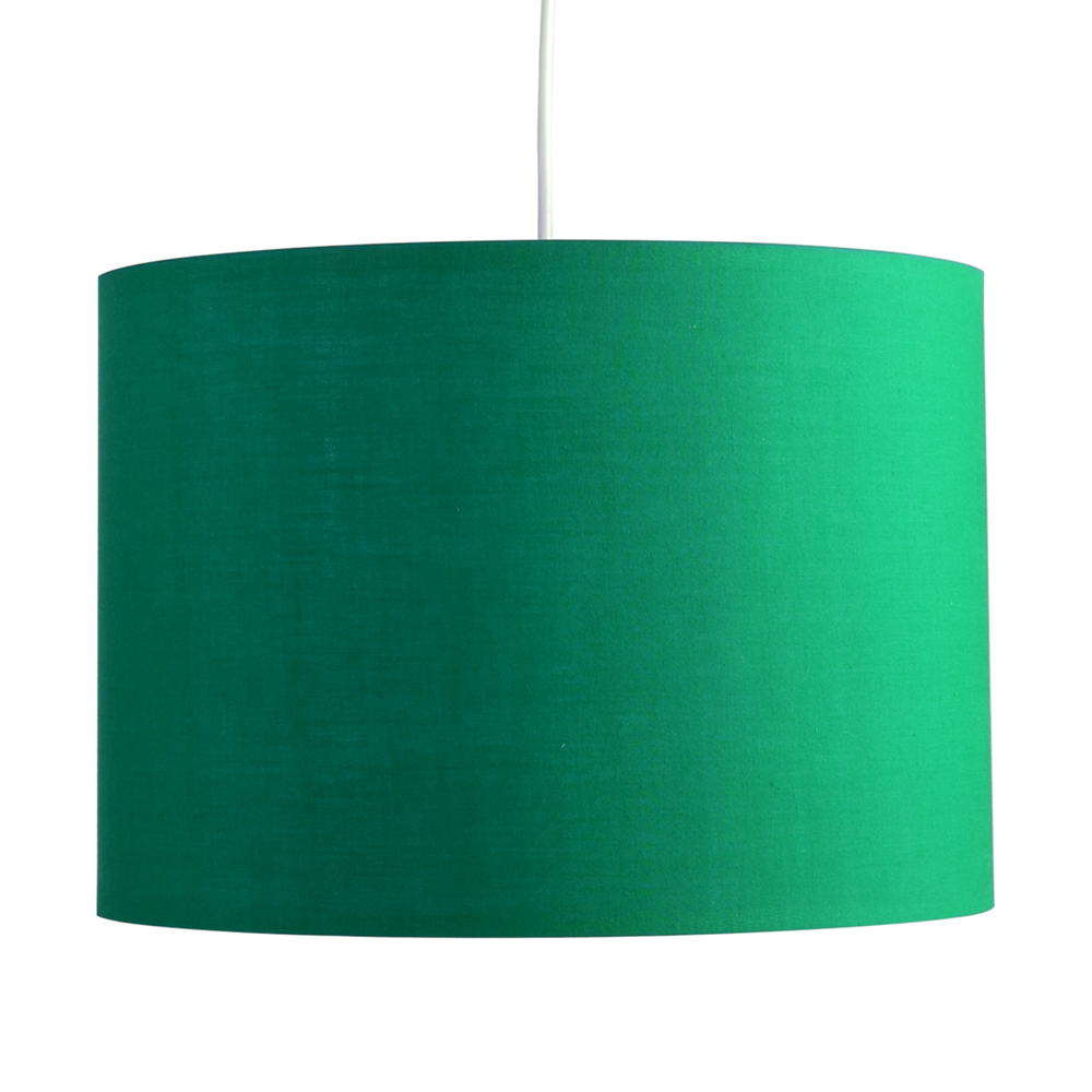 Rolla Kd Ne Large Pendant Drum Shade Green Astral