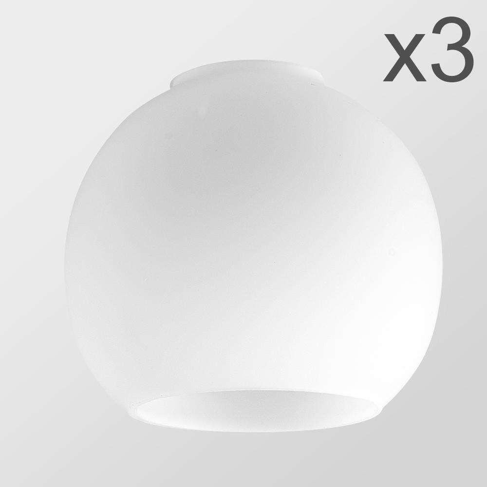 3 x Daelim Opal Glass Shades   Trending